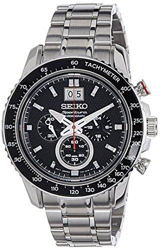 Seiko Orologio Cronografo Quarzo Uomo con Cinturino in Acciaio Inox SPC137P1