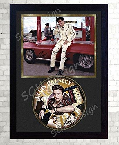 SGH SERVICES 60º aniversario Elvis Presley - Disco de CD