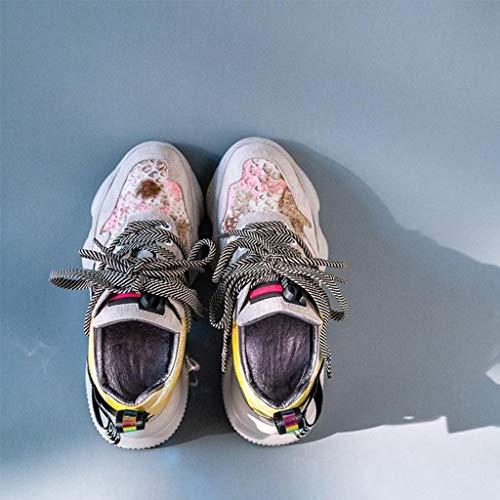 Hardloopschoenen Dames Wandelschoenen Mode Antislip Casual Schoenen Reizen Schokabsorberende Hardloopschoenen