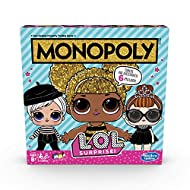 Inspired By L. O. L. Surprise: This Monopoly board game for kids ages 8 and up is inspired by the adorable L. O. L. Surprise dolls and accessories Buy, Trade and Swap Dolls: Instead of properties, the gameboard artwork features images of L. O. L. Sur...