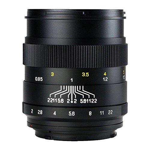 中一光学(ZHONG YI OPITCS) 単焦点レンズ CREATOR 85mm F2 (ペンタックスKマウント)(ブラック)