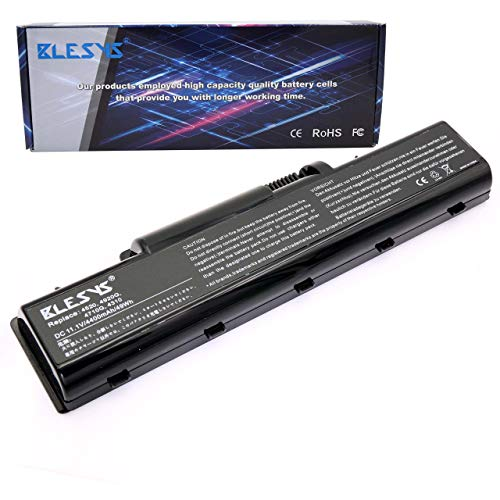 BLESYS Batería para portátil Compatible con Acer Aspire 5536 5536g 5542 5735...