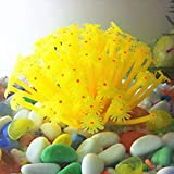 teng hong hui Adornos de Coral de anémona de mar Artificial 15 * 10 cm para la decoración del Acuario del Tanque de Peces