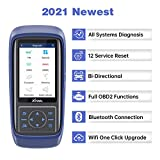 XTOOL A30 Pro Bluetooth OBD2 Scanner Upgraded Version of X100 Pad/X100 Pro2 with All Systems Diagnosis 12 Service Reset EPB DPF Touch Screen Active Test Auto VIN Scan DTC Lookup WiFi One-Click Update