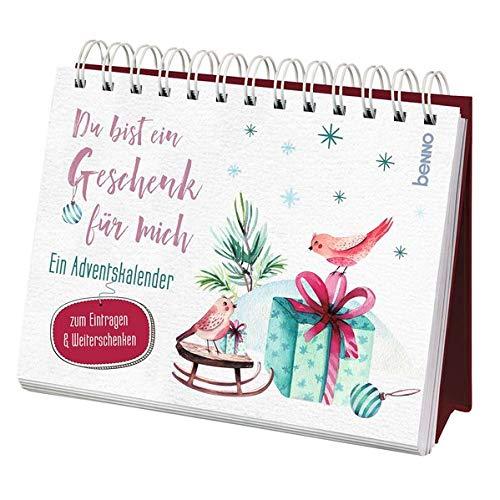Du bist ein Geschenk für mich: Ein Adventskalender zum Eintragen & Weiterschenken