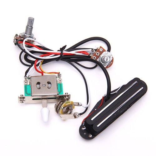 Interruptor de Palanca de Arnés de Cableado con Interruptor de 3 Vías para Guitarra Eléctrica
