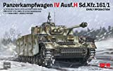 Rye Field Model 5046 Panzer IV Pz.Kpfw.IV Ausf.H Sd.Kfz.161/1 Early Production- maqueta...