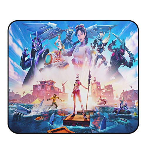 Fort_nite Mouse Pad - Game Mouse Pads,Small Mouse Pad,Non-Slip Mouse Mat with Delicate Edges,Mousepad for Kids Teens Adults Office Dorm Computer Laptop11.81 x 9.84 x 0.12Inch(30cm x 25cm x 0.3cm)