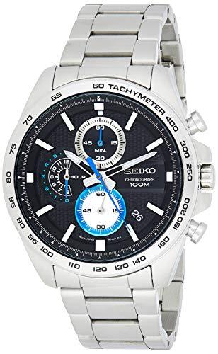 Seiko Orologio Cronografo Quarzo Uomo con Cinturino in Acciaio Inox SSB257P1