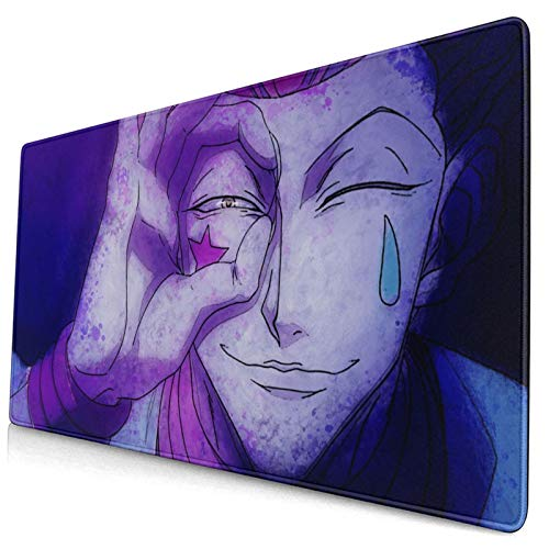 Hunter X Hunter Anime Hisoka Large Gaming Mouse Pads,with Non-Slip Computers Laptop Office&Home 750×400×3mm (29.5×15.8×0.12 Inch)
