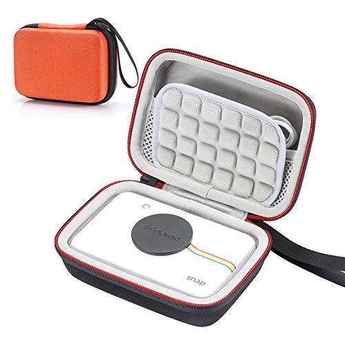 Estuche rígido para cámara Digital de impresión instantánea Polaroid Snap & Polaroid Snap Touch, Bolsa de Almacenamiento de Viaje Que Lleva - Naranja