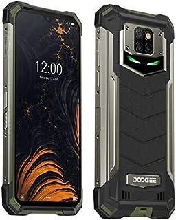 DOOGEE S88 Plus (8 GB + 128 GB) 10000 mAh batterij outdoor smartphone zonder contract, 48 MP quad-camera, Octa-Core Androi...