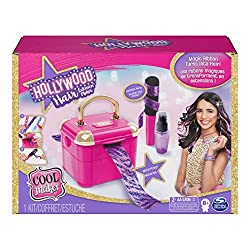 small Cool Maker, Hollywood Hair Extension Machine with 6 Bonus Extensions (18 in total) and accessories …