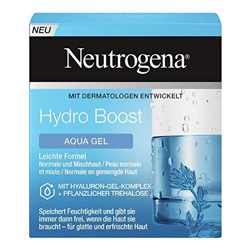 Neutrogena Hydro Boost Aqua Gel (50ml) - Feuchtigkeitsspendende Gesichtspflege mit Hyaluron und...