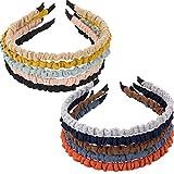 FLOFIA 10 Stück Haarreif Damen Vintage Schmal Haarreifen Damen Retro Haarreifen Headband Stirnband Haarband Kopfschmuck für Mädchen