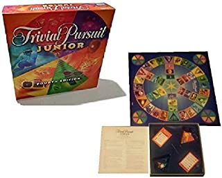 Parker Brothers Trivial Pursuit Junior Fourth Edition