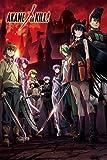 Wonderful Life A Japan Anime Poster - Akame ga Kill!アカメが斩る! - 1 - Tin Poster Tin Sign 12x8 inch