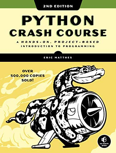 Python Crash Course 2nd Edition A Hands On Project Based Introduction to Programming product image