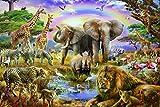 Vacio Rompecabezas para Adultos 3D Puzzle 1000 Piezas Estilo zoológico Rompecabeza Art DIY Ocio...