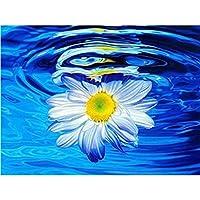 ダイヤモンド塗装 DIY 5Dダイヤモンド絵画フラワーアレンジローズクロスステッチランドスケープダイヤモンド刺繍フルラウンドドリルラインストーン (Color : 3, Size : Canvas size20cmX25cm)