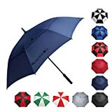 BAGAIL Golf Umbrella 68/62/58 Inch Large Oversize Double Canopy Vented Automatic...