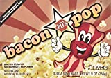J&D's Bacon Pop Bacon Flavored Microwave Popcorn (3 Bags/Box) 2 Pack