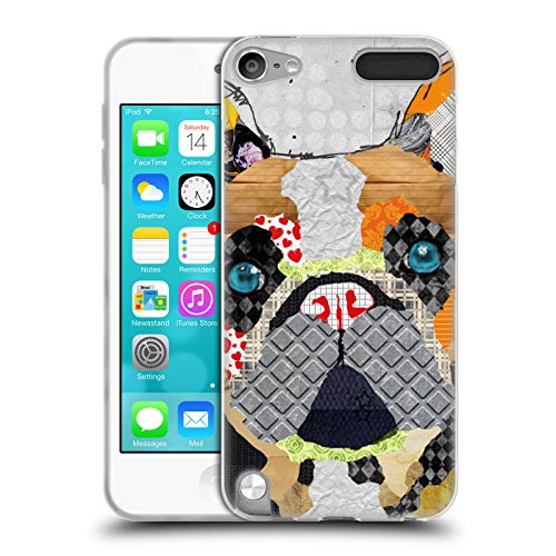 Head Case Designs Officially Licensed Michel Keck French Bulldog Dogs 3 Soft Gel Case Compatible with Apple iPod Touch 5G 5th Gen