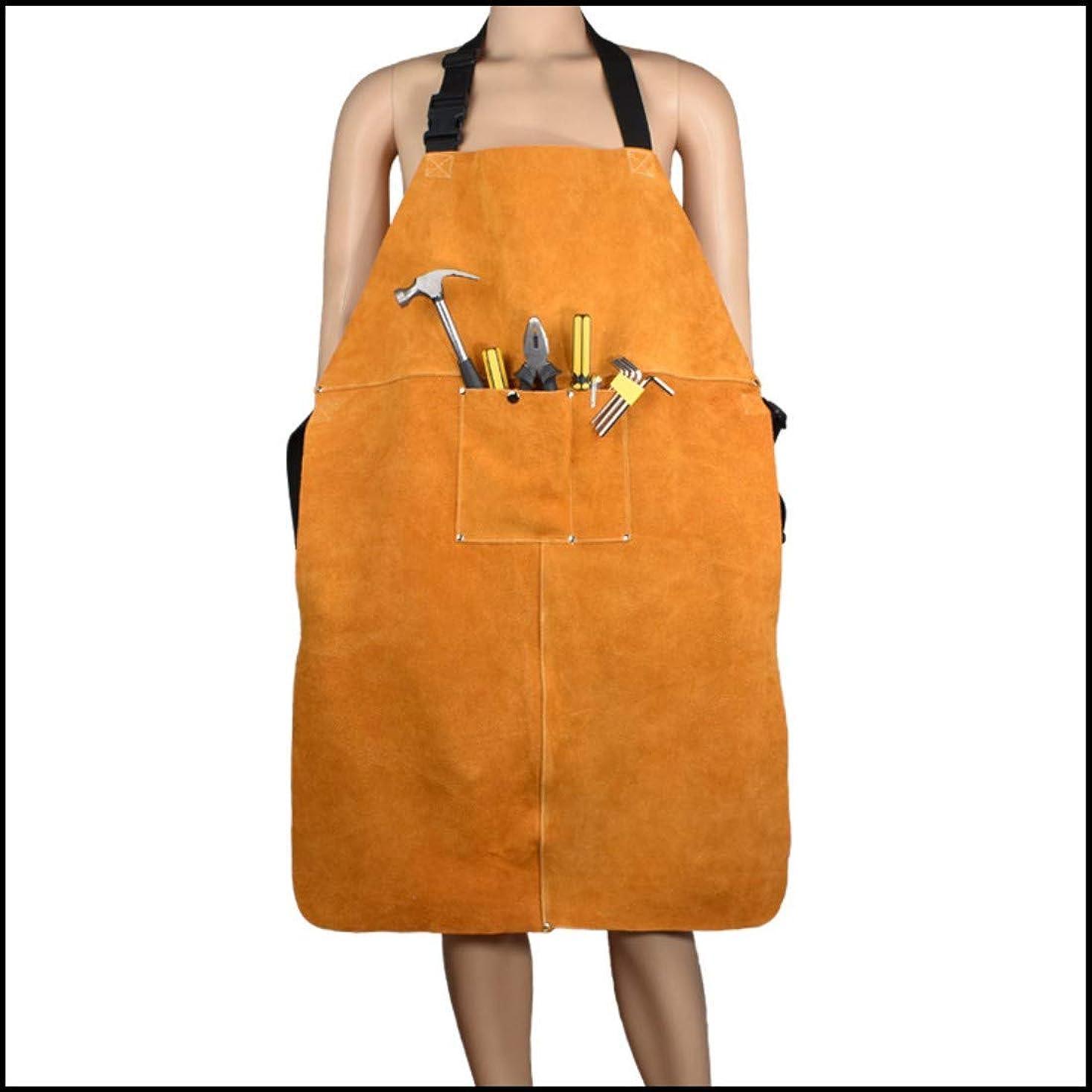 緩む自宅で列挙する革手袋 溶接用エプロン
