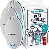 BRISON Ultrasonic Pest Repeller - Rodent Repellent Indoor Ultrasonic Control – Repellent for Mice...