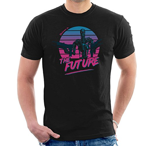 The Terminator 80s Sunset T-800 Graphic T-shirt, Welcome To The Future