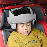 Getko With Device Adjustable Child Car Seat Belt Head Support Band, Head Support A Comfortable Safe Sleep Solution, Head Support Belt (Multi Color)
