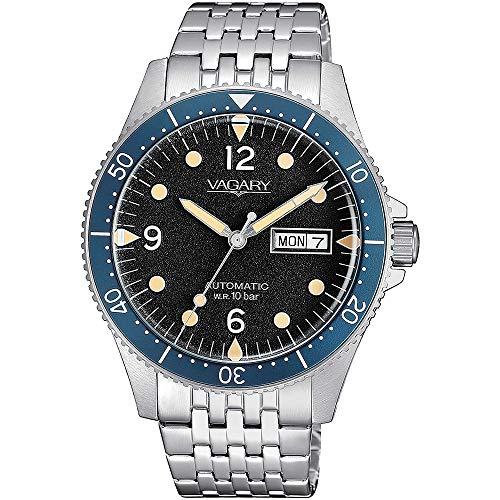 orologio solo tempo uomo Vagary By Citizen Gear Matic trendy cod. IX3-319-51