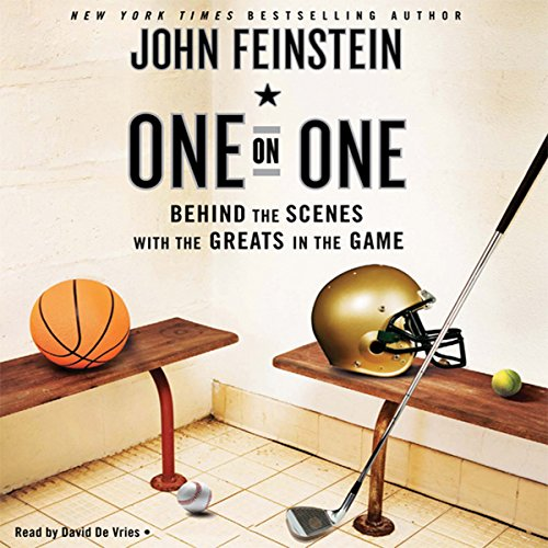 One on One audiobook cover art