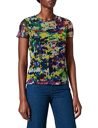 Desigual TS_eloisse Camiseta, Multicolor, XL para Mujer