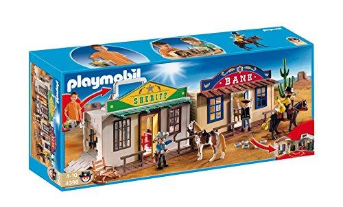 PLAYMOBIL: Ciudad del Oeste Forma de maletín