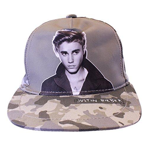 Justin Bieber - Cappello - ragazza multicolore Multicoloured Taglia unica