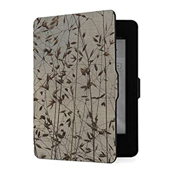 Case for Kindle Paperwhite 1/2/3 Generation CoverKindlePaperwhite Bluegrass Grass Meadow Summer Backlighting Pu Leather Cover with Auto Wake/Sleep AllNewKindleCase