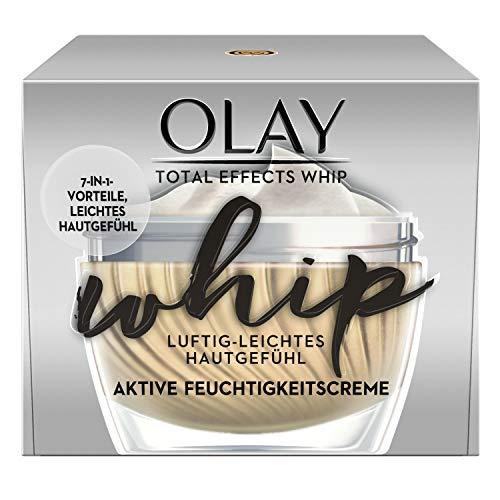 Olay Total Effects Whip Luftig-Leichte Feuchtigkeitscreme 50 ml – 7-In-1 Vorteile Und Leichtes Hautgefühl