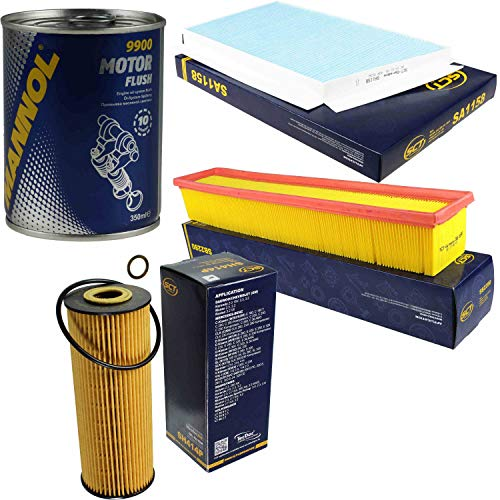 Original SCT Inspektionspaket Filter Set + Motor Flush Motorspülung 11586012