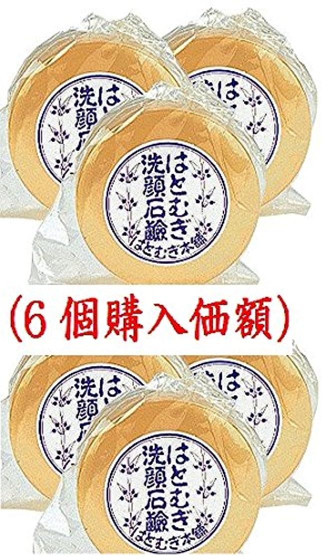 無意味繁殖お母さんはとむぎ洗顔石鹸(6個購入価額)皇漢薬品研究所