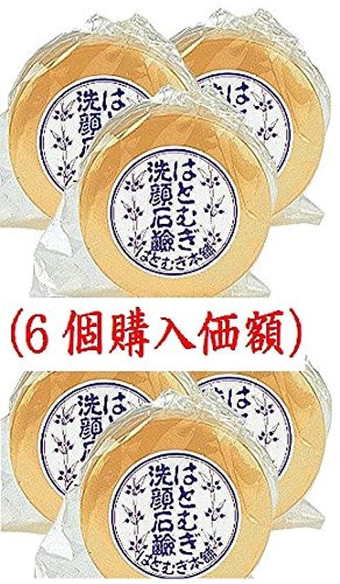 鉱夫ビットブリークはとむぎ洗顔石鹸(6個購入価額)皇漢薬品研究所