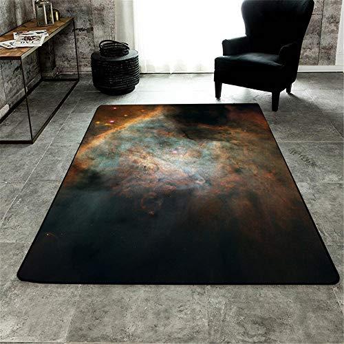 WQ-BBB Bonita Dormitorios La Alfombrae Decoración Abstracta alfombras Salon Negro Gris marrón Azul el Juego Hermosa jarapas 160X230cm