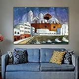 PLjVU Artistas Maestros Famosos añaden lienzos fotográficos de Pintura para Arte de decoración para Colgar en la Pared de la habitación-Sin marco30x45cm