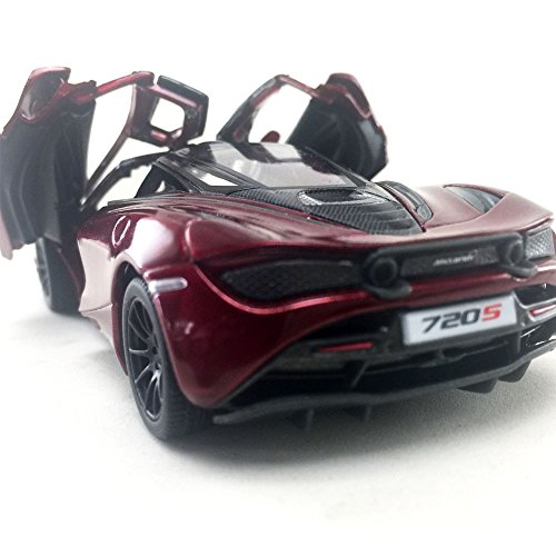 Kinsmart McLaren 720S, Red 5403D - 1/36 Scale Diecast Model Toy Car (Brand New but NO BOX)