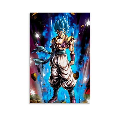 SHEFEI 6404-Goku - Póster de la bola del dragón y arte para pared, diseño moderno de la familia, 50 x 75 cm