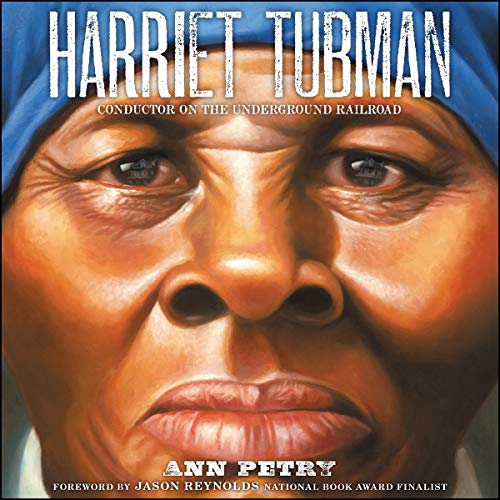 Harriet Tubman audiobook cover art