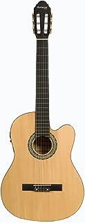 Huntington Classical Cutaway Acoustic Electric Guitar Nylon Strings (Natural)