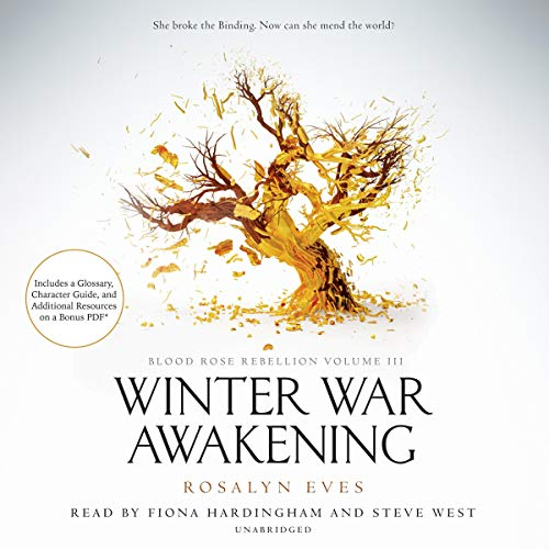 Winter War Awakening audiobook cover art