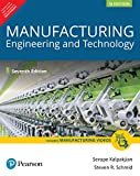 Manufacturing Engineering & Technology (7th Ed)