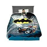 Franco Kids Bedding Super Soft Plush Blanket, Twin/Full Size 62' x 90', Batman